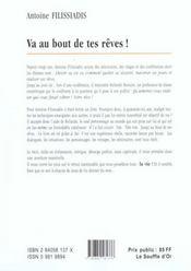Va Au Bout De Tes Reves ! - 4ème de couverture - Format classique