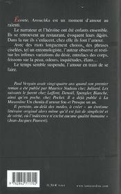 Ecoute anouchka - 4ème de couverture - Format classique
