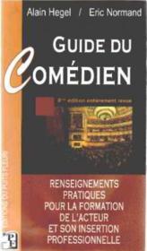 Guide du comédien (8e edition) - Couverture - Format classique
