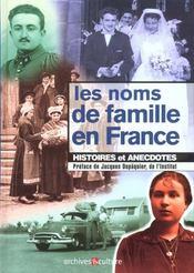 Noms De Famille En France - Intérieur - Format classique