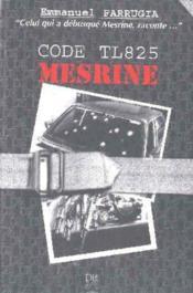 Code tl 825 ; mesrine - Couverture - Format classique