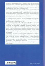 Logique Ensembles Categories Le Point De Vue Constructif - 4ème de couverture - Format classique