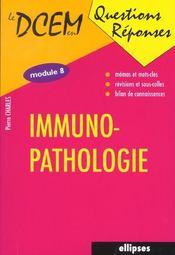 Immunopathologie Module 8 - Intérieur - Format classique