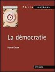 La Democratie - Couverture - Format classique