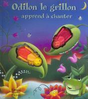 Odilon le grillon apprend a chanter - Intérieur - Format classique