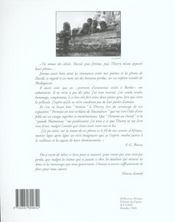 La chambre noire et la jeune femme - 4ème de couverture - Format classique