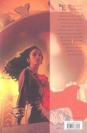 Superman returns ; de krypton a la terre - 4ème de couverture - Format classique