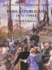 Paris Republicain ; 1871-1914 - Intérieur - Format classique