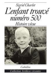 L'Enfant Trouve Numero 500 - Couverture - Format classique
