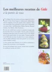 Cuisine De Chefs - 4ème de couverture - Format classique