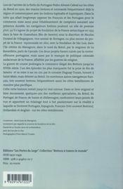 Les aventures des Bretons au Brésil à l'époque coloniale - 4ème de couverture - Format classique
