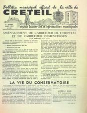 Bulletin De Creteil N°27 du 01/03/1964 - Couverture - Format classique