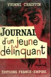 Journal D'Un Jeune Delinquant. - Couverture - Format classique