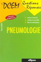 Pneumologie Nouveau Programme - Intérieur - Format classique