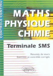 Mathématiques/physique-chimie ; terminale SMS - Intérieur - Format classique