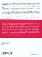 La Morale Le Devoir La Volonte La Personne 2e Edition - 4ème de couverture - Format classique