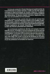 L'Oxydoreduction Concepts Et Experiences - 4ème de couverture - Format classique
