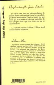 Peuples D'Argile ; Forets D'Etoiles - 4ème de couverture - Format classique