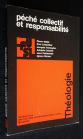 Peche Collectif Et Responsabilite - Couverture - Format classique