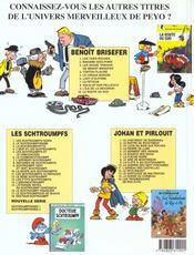 Benoît Brisefer t.3 ; les douze travaux de Benoît Brisefer - 4ème de couverture - Format classique