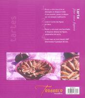 Tartes aux fruits et clafoutis - 4ème de couverture - Format classique
