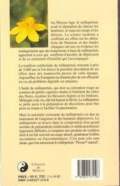 Le Millepertuis, Un Anti-Depresseur Naturel - 4ème de couverture - Format classique