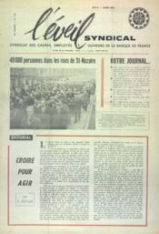 Eveil Syndical (L') N°144 du 01/03/1964 - Couverture - Format classique