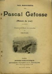 Pascal Gefosse. Collection Modern Bibliotheque. - Couverture - Format classique