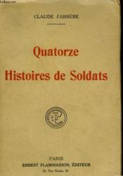 Quatorze Histoires De Soldats. - Couverture - Format classique