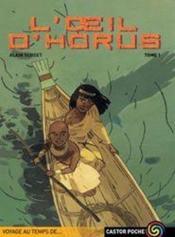 L'Oeil D'Horus. Tome 1. Collection Castor Poche N° 681 - Couverture - Format classique