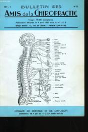 Bulletin Des Amis De La Chiropractie N° 53. - Couverture - Format classique