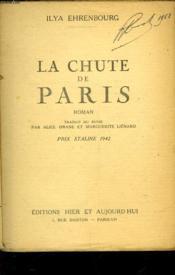 La Chute De Paris - Couverture - Format classique