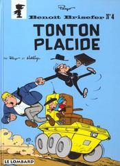 Benoît Brisefer T.4 ; Tonton Placide - Intérieur - Format classique