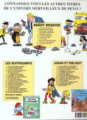Benoît Brisefer T.4 ; Tonton Placide - 4ème de couverture - Format classique