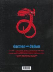 Carmen Mc Callum t.1 ; Jukurpa - 4ème de couverture - Format classique