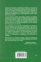 Guerisseur De Chatillon (Le) - 4ème de couverture - Format classique
