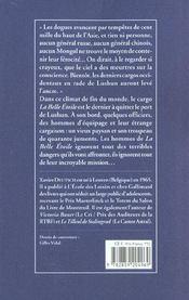 Belle Etoile (La) - 4ème de couverture - Format classique