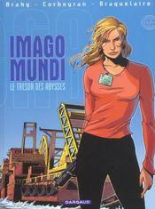 Imago mundi t.2 ; le trésor des abysses - Intérieur - Format classique