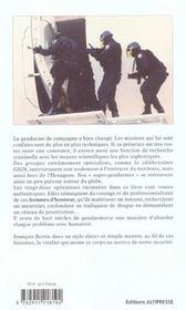 Gendarmes en opérations - 4ème de couverture - Format classique