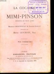 La Cocarde De Mini-Pinson - Operette En Trois Actes - Couverture - Format classique