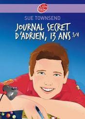 Journal secret d'Adrien, 13 ans 3/4 - Intérieur - Format classique