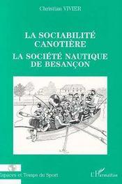 La sociabilité canotière ; la société nautique de Besançon - Intérieur - Format classique