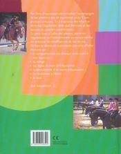 Mon Livre D'Equitation - 4ème de couverture - Format classique