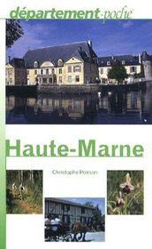 Haute-Marne - Couverture - Format classique