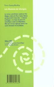 Les illusions de Mongou - 4ème de couverture - Format classique