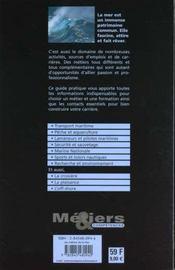 Les Métiers De La Mer - 4ème de couverture - Format classique