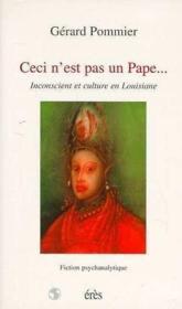 Ceci N'Est Pas Un Pape... - Couverture - Format classique