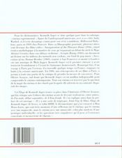 Kenneth Anger - 4ème de couverture - Format classique