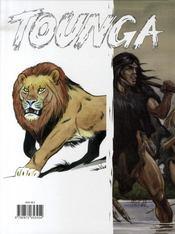 Tounga ; intégrale t.6 - 4ème de couverture - Format classique