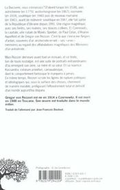 Neiges D'Antan - 4ème de couverture - Format classique